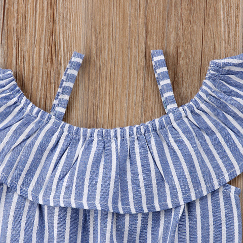 Baby Elegant Stripes Romper-www.my-baby-world.com