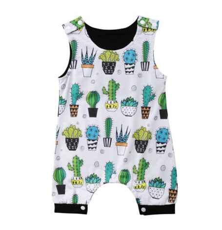 Baby Colorful Cactus Romper-www.my-baby-world.com