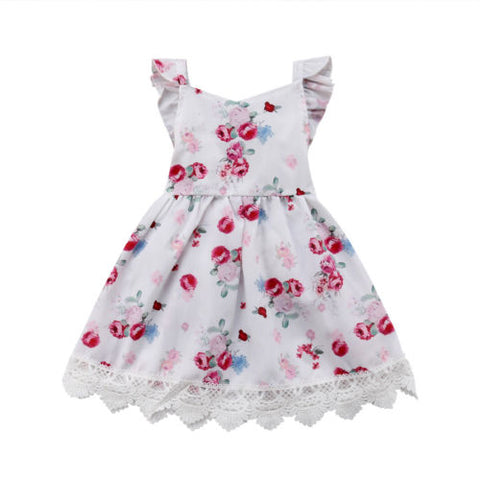 Baby Floral & Lace Dress