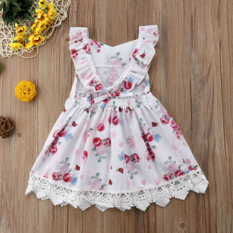 Baby Floral & Lace Dress-www.my-baby-world.com