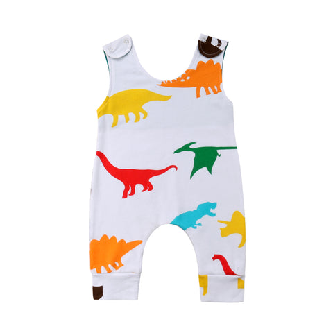 Baby Colorful Dino Romper