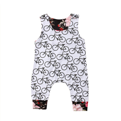 Baby Bicycle Jumpsuit