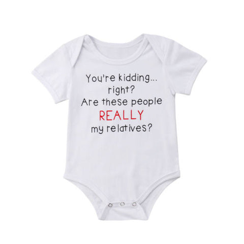 Baby Relatives Onesie
