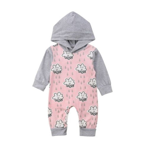 Baby Happy Cloud Hoodie Jumpsuit