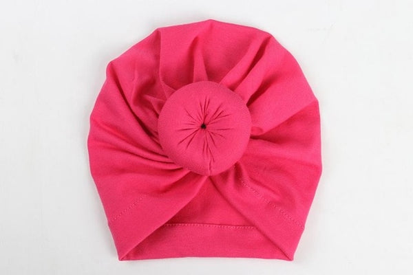 Baby Donut Turban Hat-www.my-baby-world.com