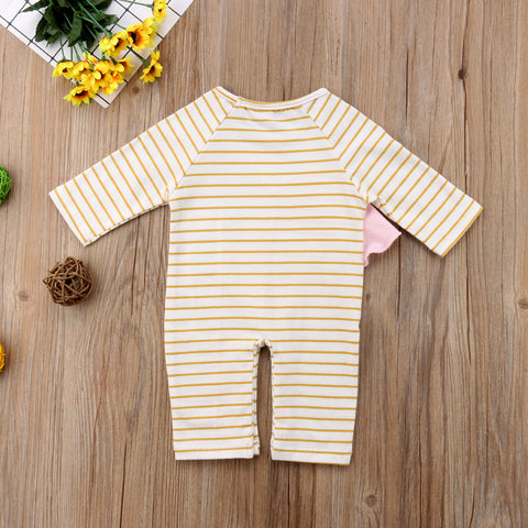 Baby Unicorn & Stripes Jumpsuit-www.my-baby-world.com