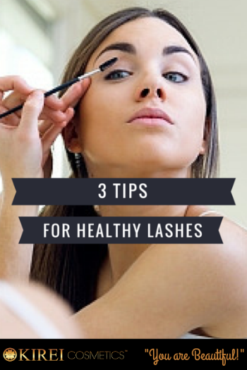 3 Tips For Healthy Lashes