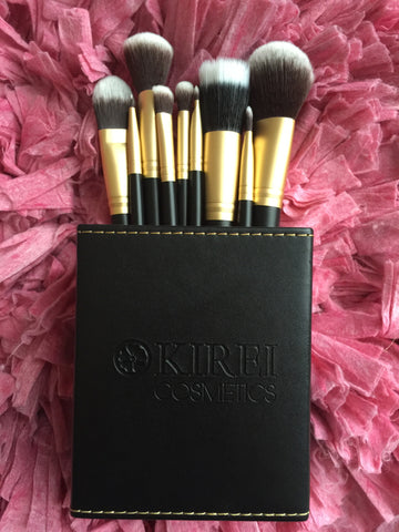 Professional Makeup Brushes - 10 Piece Set - Kirei Cosmetics - 7