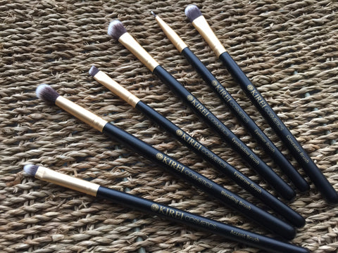 Professional Makeup Brushes - 10 Piece Set - Kirei Cosmetics - 9