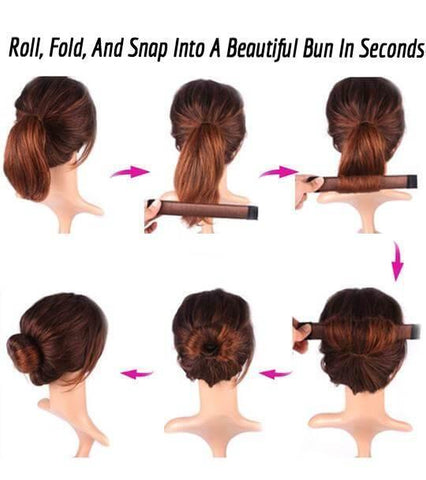 French Twist Instant Hair Bun Maker