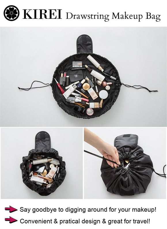 Kirei Drawstring Makeup Bag