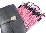 Pink Makeup Brush Set - 22 Pieces (Limited Edition) - Kirei Cosmetics - 1