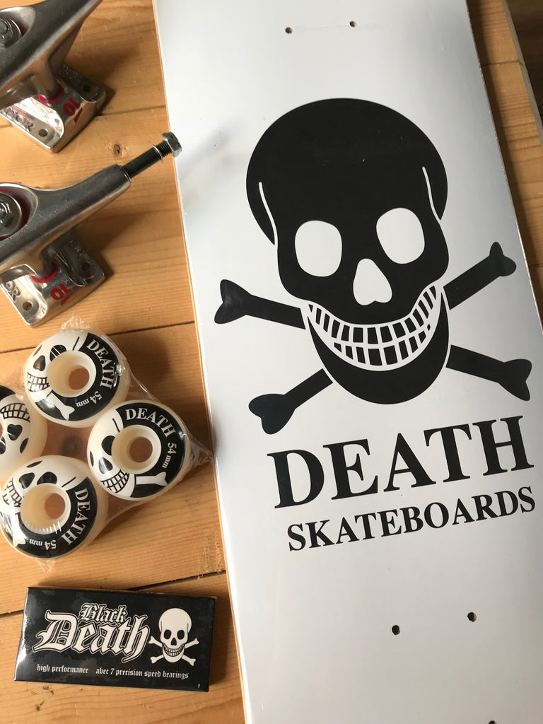 Death Skateboards Re-Stocked