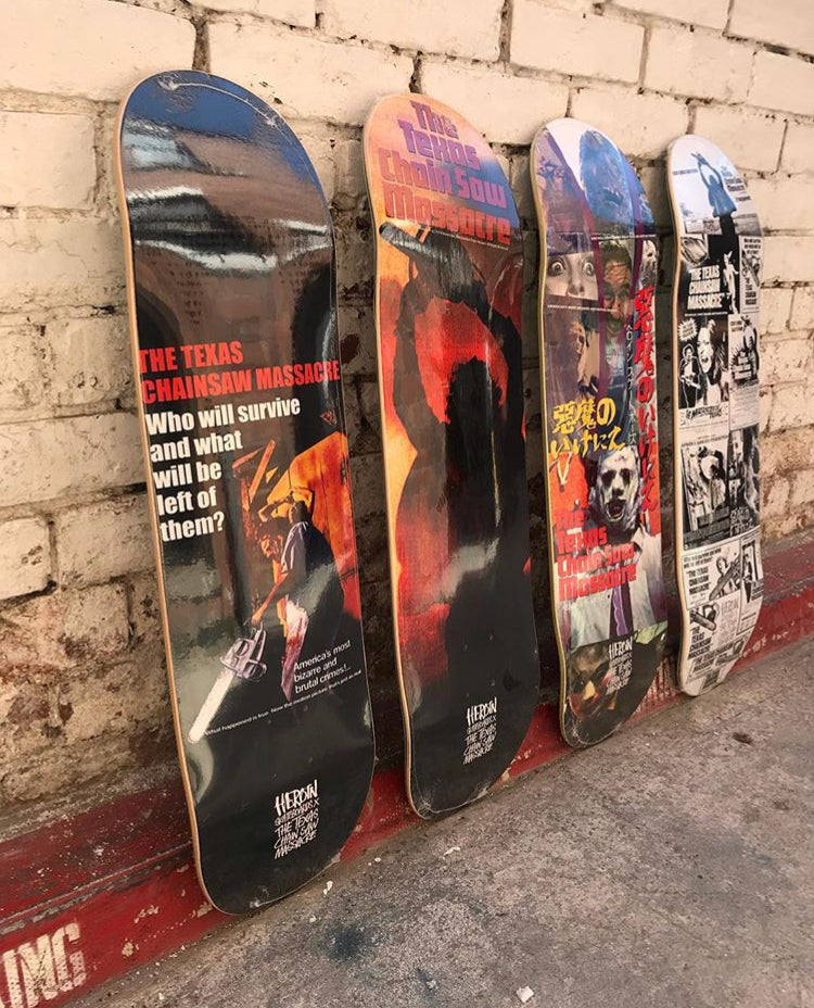 Heroin Skateboards X The Texas Chainsaw Massacre