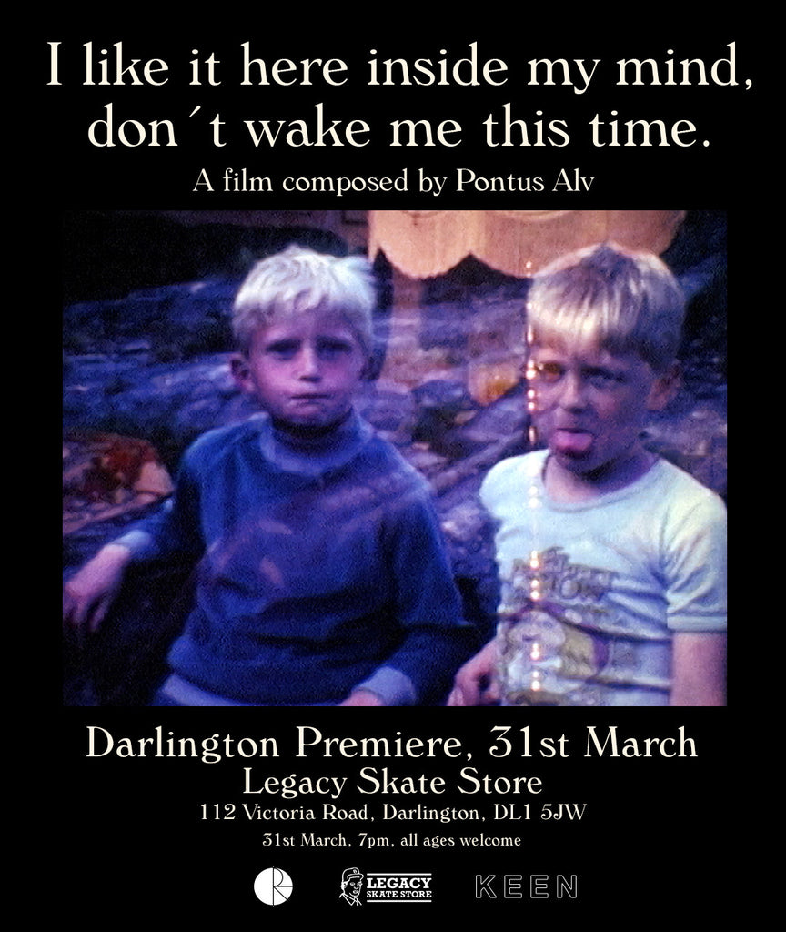 Polar Skate Co - I like it here inside my head, don't wake me. ***PREMIERE INFO***