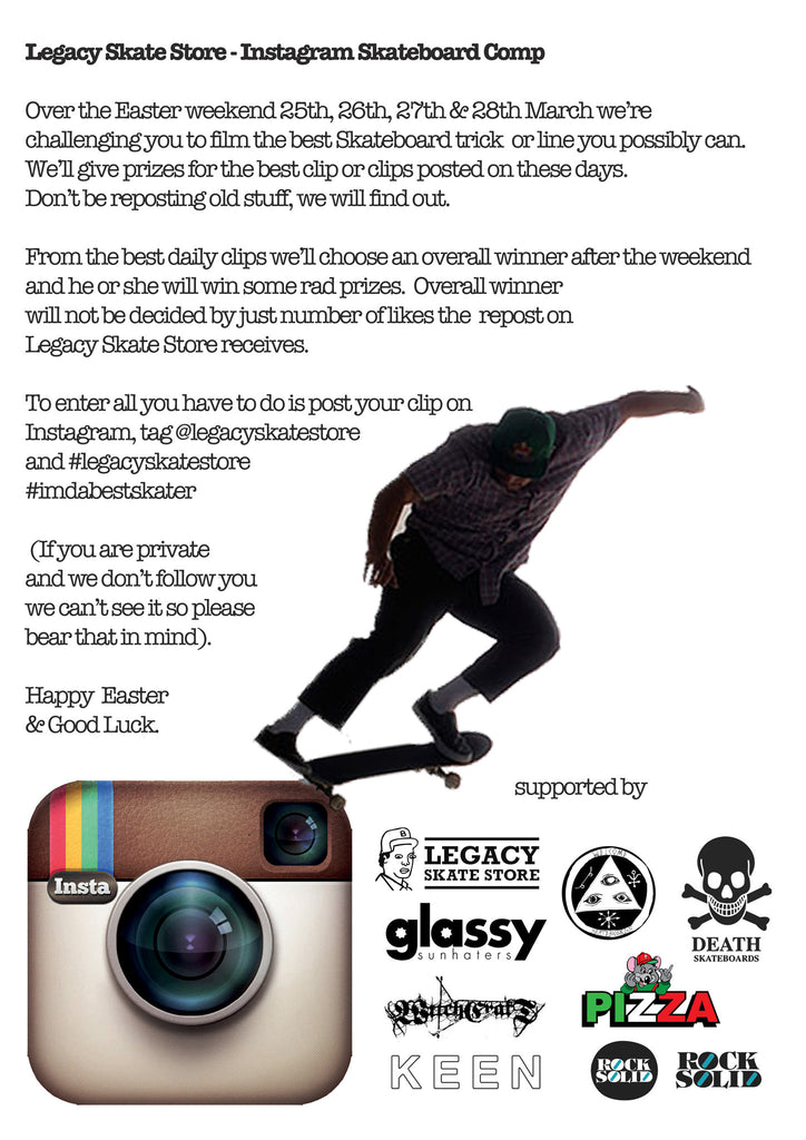 Legacy Skate Store Instagram Comp