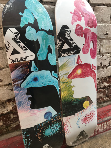 Brains Decks from Palace Skateboards
