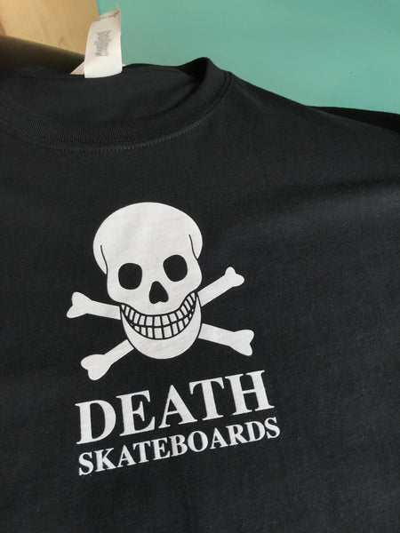 Death Tee OG Skull Black and White
