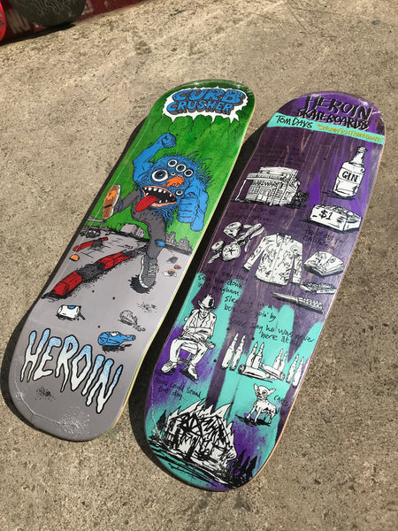 cruiser-shapes-heroin-skateboards