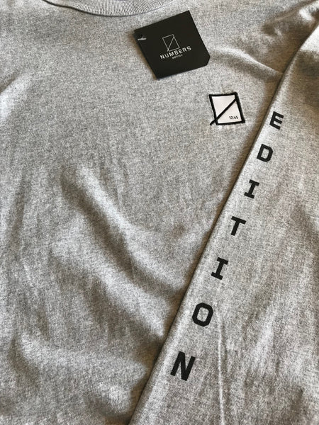 Grey Long Sleeve Numbers Edition 4