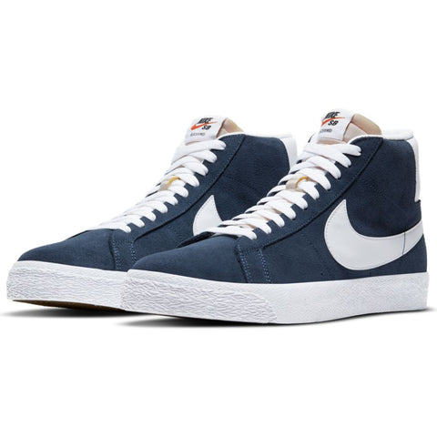 Blazer Mid (Navy/White-Black-University Red)