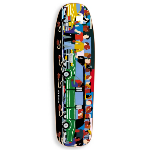 Limo (Nick Boserio) 1992 Shaped Deck