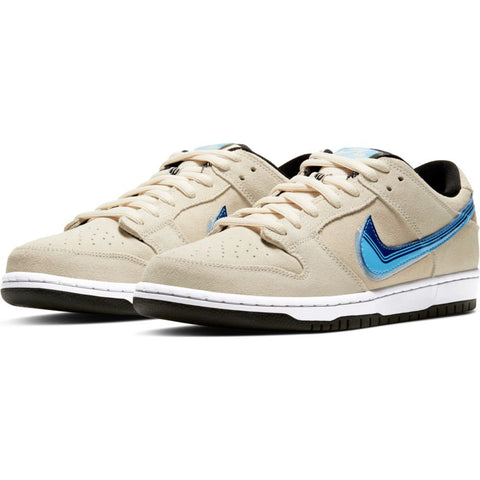 Dunk Lo Pro (Light Cream/Deep Royal Blue)