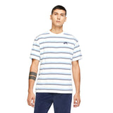 Striped Skate Tee (Sail/Mystic Navy)
