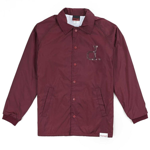 Un-Polo Coach Jacket (Burgundy)