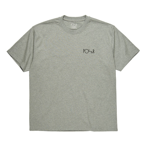 Fill Logo Tee (Heather Grey/Black)