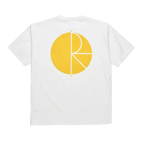 Fill Logo Tee (White/Yellow)