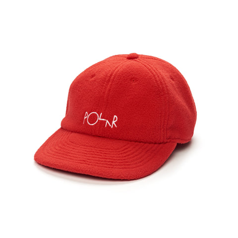Fleece 6 Panel (Red)