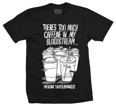 Caffeine Tee (Dark Grey)