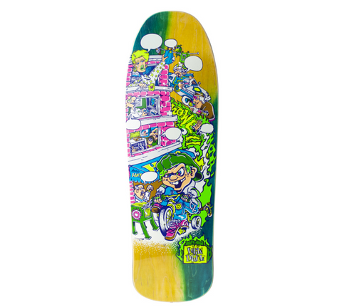 Tri-cycle Kid Andy Howell (Neon) Deck