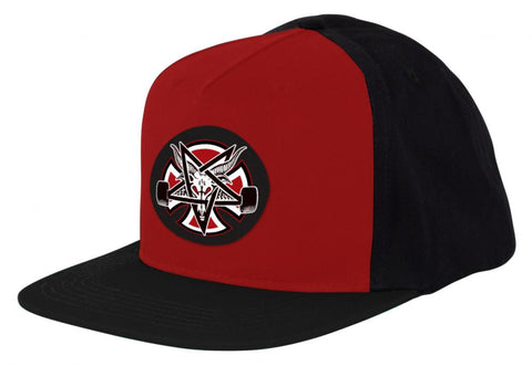 Indy X Thrasher Pentagram Cross Cap