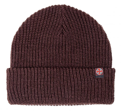 Edge Beanie (Chocolate)