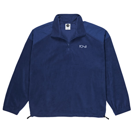 Lightweight Fleece Pullover (Navy)