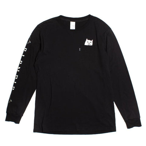Lord Nermal Longsleeve Tee (Black)