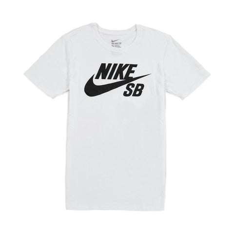 Logo T-shirt (White/Black)
