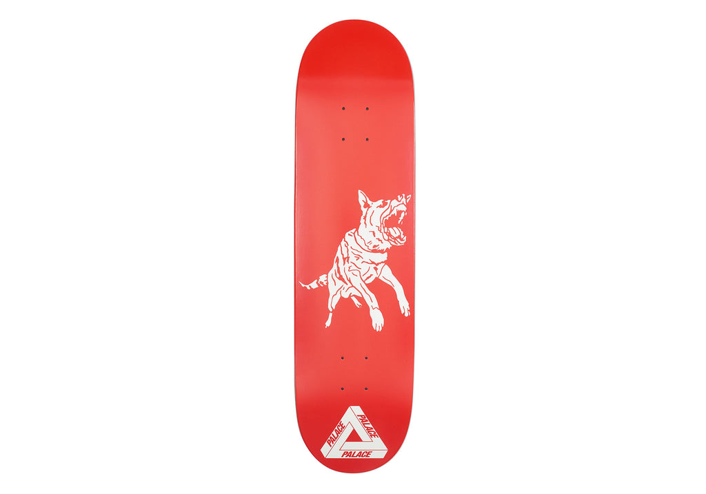 Dog Deck Red