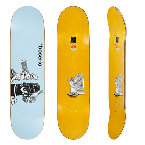 Boserio Knock Knock Deck (Light Blue)
