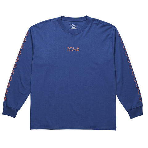 Racing Longsleeve (Royal Blue/Orange)