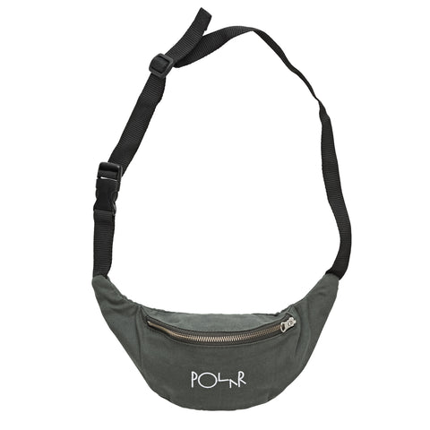 Script Logo Hip Bag (Grey Green)
