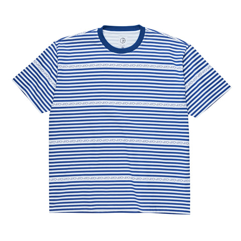 Stripe Logo Tee (Blue)
