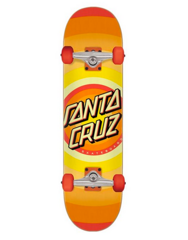 Gleam Dot (Orange) Complete Skateboard