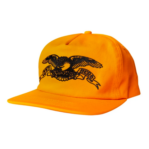 Basic Eagle Snapback Cap (Orange/Black)