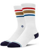 Boyd ST Socks (White/Brown)
