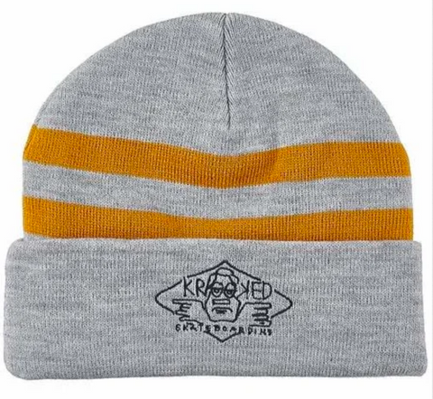 Arketype Beanie (Heather Grey/Gold)