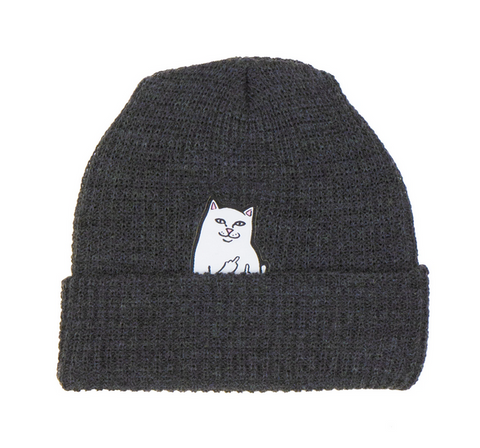 Lord Nermal Beanie (Charcoal)