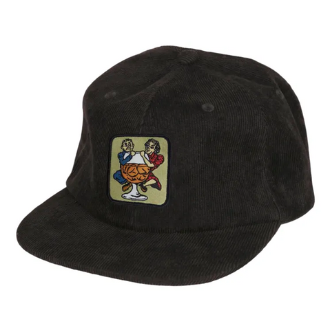 With a Friend 5 Panel Cap (Black)